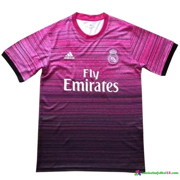 Camiseta Entrenamiento Real Madrid Purpura 2016 2017